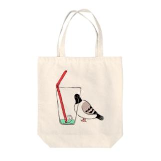 hatonomazu Tote bags