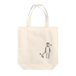 杵と臼のツーショット Tote bags