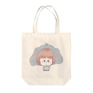 ぱおーん着ぐるみ Tote bags