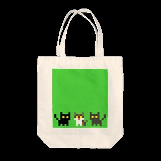 智叉猫の3ねこトートバッグ