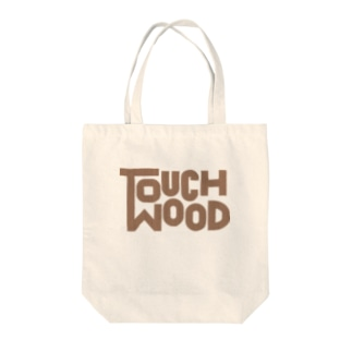 TOUCH WOOD Tote bags