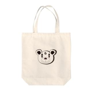 ROKU-KUMA Tote bags