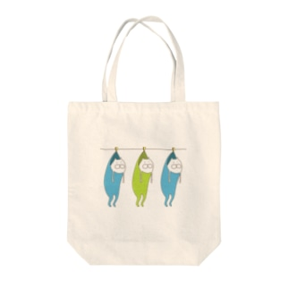ねこタイツの洗濯 Tote bags