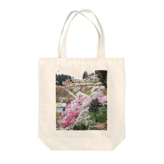 We Love ASAHI(上中のしだれ桃) Tote bags