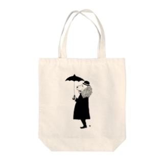 らいおんさん Tote bags