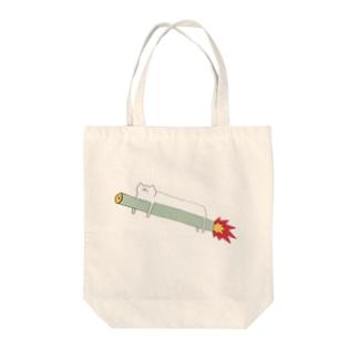 ジェットネコさん Tote bags