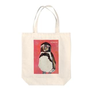 フンボルトペンギン05 Tote bags