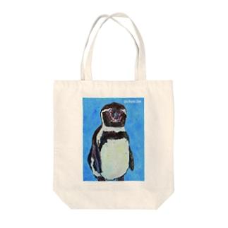 フンボルトペンギン01 Tote bags
