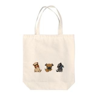 3グリフォンズ Tote bags