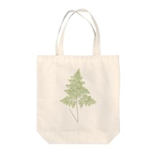 シダ <アンティーク・ボタニカルアート> Tote bags
