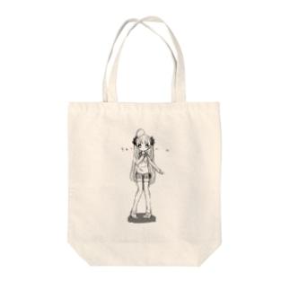 きゅぅ〜ん♡ Tote bags