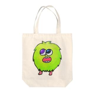 ミドリの妖精さん Tote bags