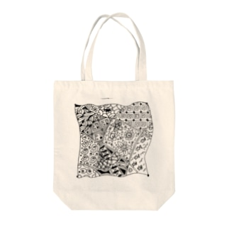 宇宙秋のoresamatangle Tote bags
