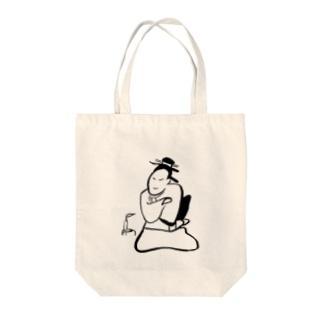 JUNSEN(純仙)江戸 しんみり考える Tote Bag