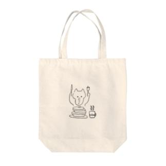 食欲 Tote bags