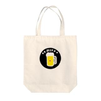 BEER Tote bags