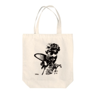 Butterfly Girl Tote bags