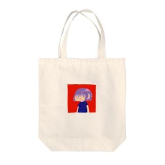 ムラサキちゃん Tote bags