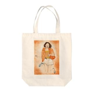 雑誌モデルから Tote bags