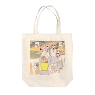 少女 Tote Bag