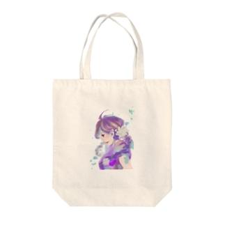 アジサイ姫 Tote bags