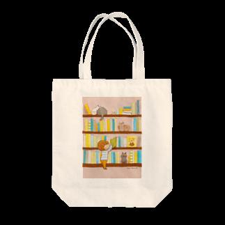 marmelo*のぼくんちの本棚 トートバッグ