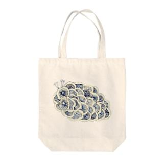 茸虫 Tote bags