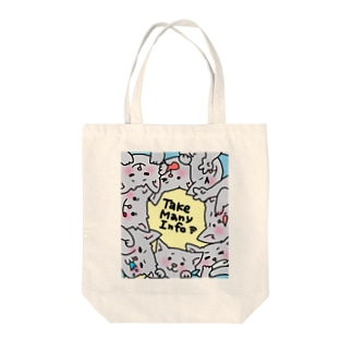 Manyジョンさん Tote bags