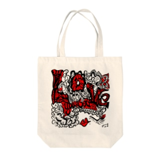 loveourselves by F.W.W. Tote bags