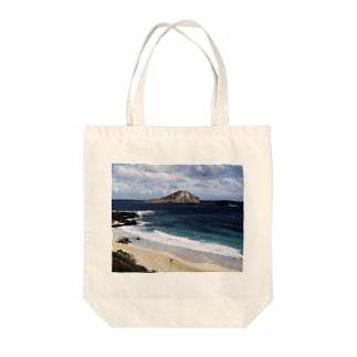 ラピットアイランド Tote bags
