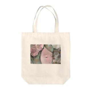 巡りて春 Tote bags