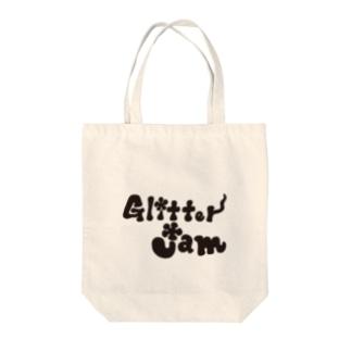 Glitter Jam  グリッタージャム Tote bags