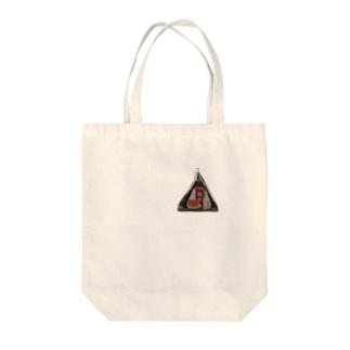 筋子おにぎり Tote bags