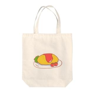オムライスさん Tote bags