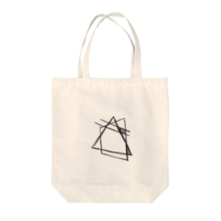 さんかくしかく Tote bags