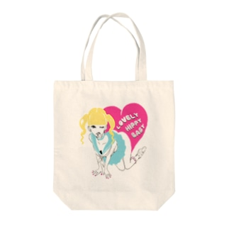 LOVELY HIPPY BABY 2 Tote bags