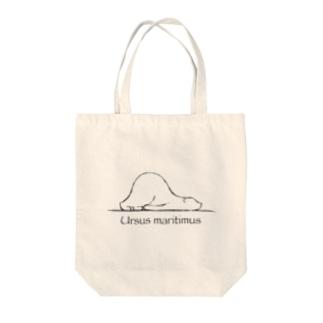 しろくまの学名 Tote bags