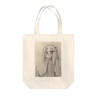 ホウセンちゃんトート Tote bags