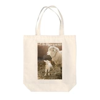 親子羊 Tote bags