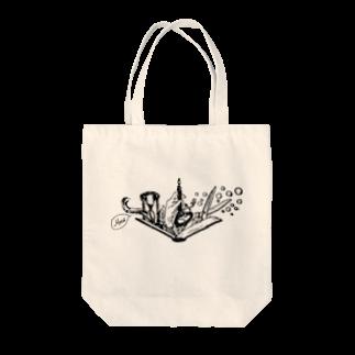 LUNARHOLIC STOREの-Noir+Angelique- メモリアルイラスト柄シリーズ Tote bags