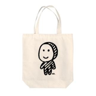 全身タイツくん Tote bags