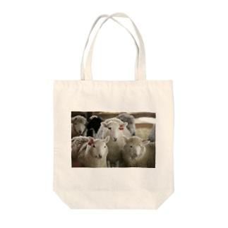 3匹の羊 Tote bags