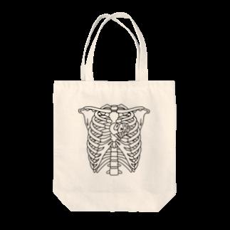 LUCHAのLUCHA SKELETON Tote bags