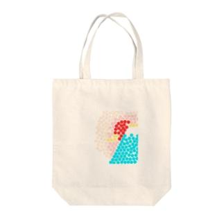 フジ Tote bags