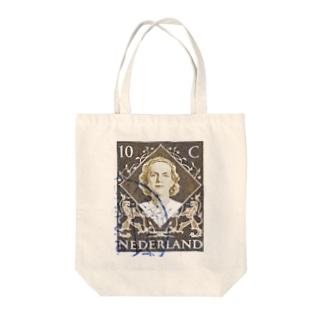 オランダの切手 トートバッグ