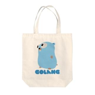 GOLANG Tote bags