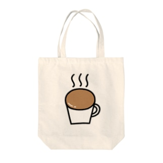 なみなみカフェオレ Tote bags