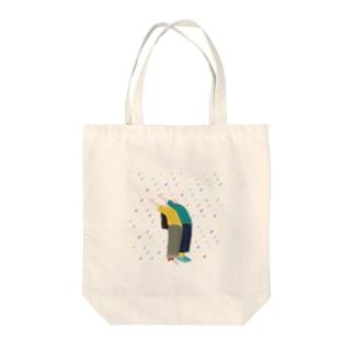 雨の降った日 Tote bags