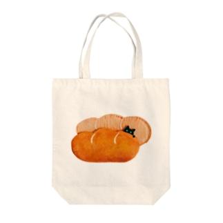 tokimekizaのパンクロネコ(みどりのひとみ) Tote bags