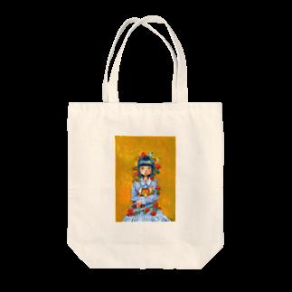 後悔 郁の夢を抱える女の子 Tote bags